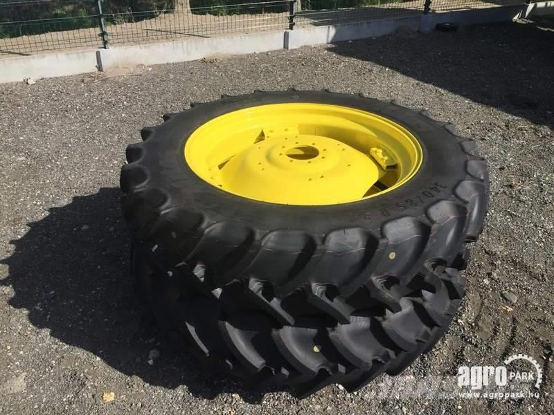 Mitas Wheel with 340/85R38 Mitas on adjustable rims, 2 p