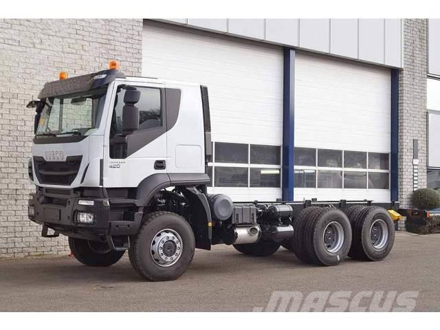 Iveco TRAKKER AT380T42WH CHASSIS CABIN (4 units)
