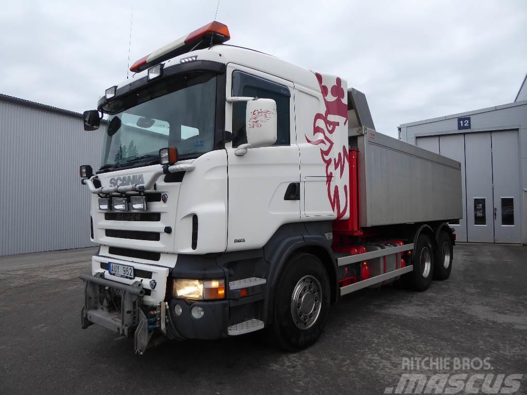 Scania R500 6x4 Tipp o Plogbil 395 000:-