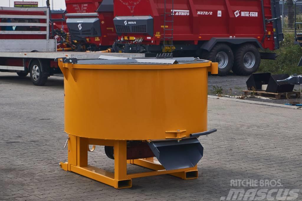 Top-Agro concret mixer, 800 L, PTO drive / bétonnière
