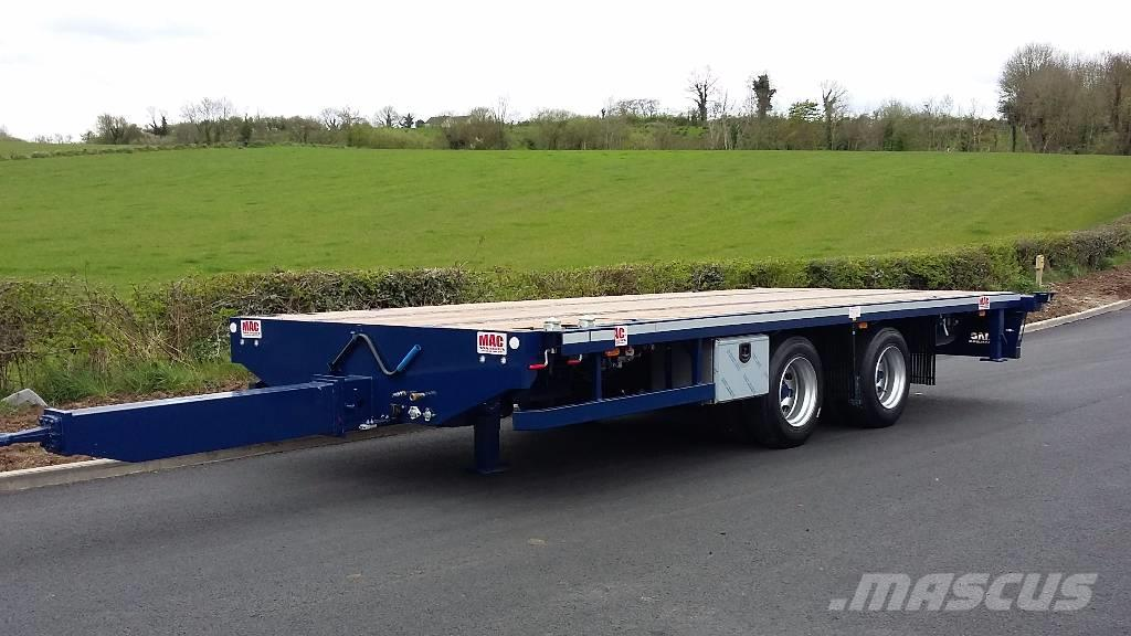 MAC 2 Axle Drawbar Flatbed