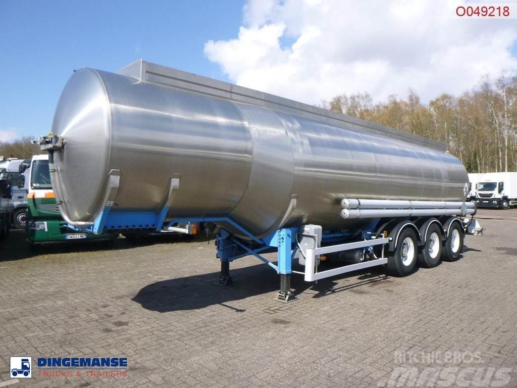 Magyar Fuel tank inox 37.5 m3 / 7 comp