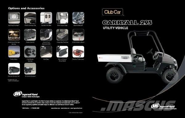 Club Car Carryall 295 Gasoline