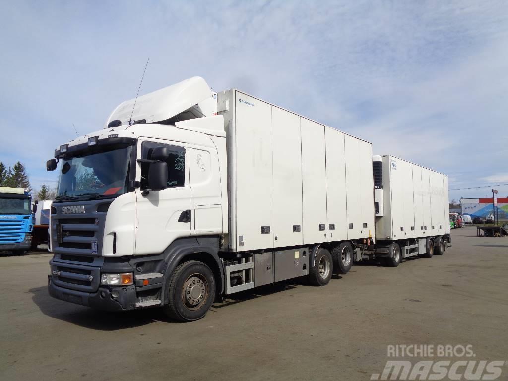 Scania R560 6x2 +pv