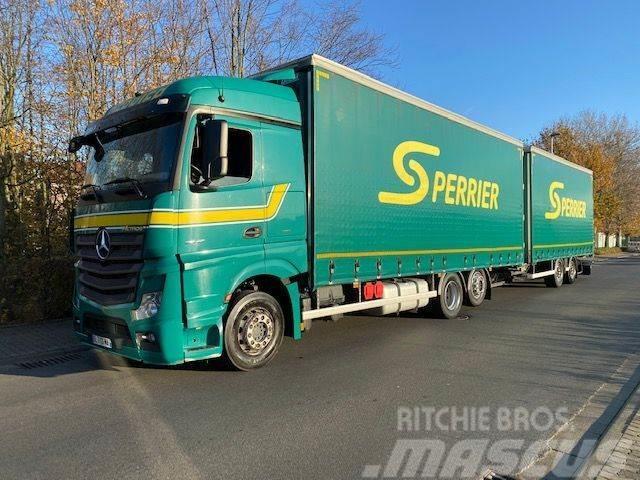 Mercedes-Benz Actros 2545 Komplettzug/Retarder/Euro 6/Lenk und L