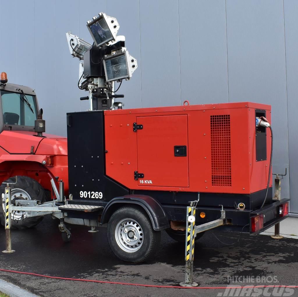 Sdmo RL16 mit SDMO 9MT M126 Lichtmast