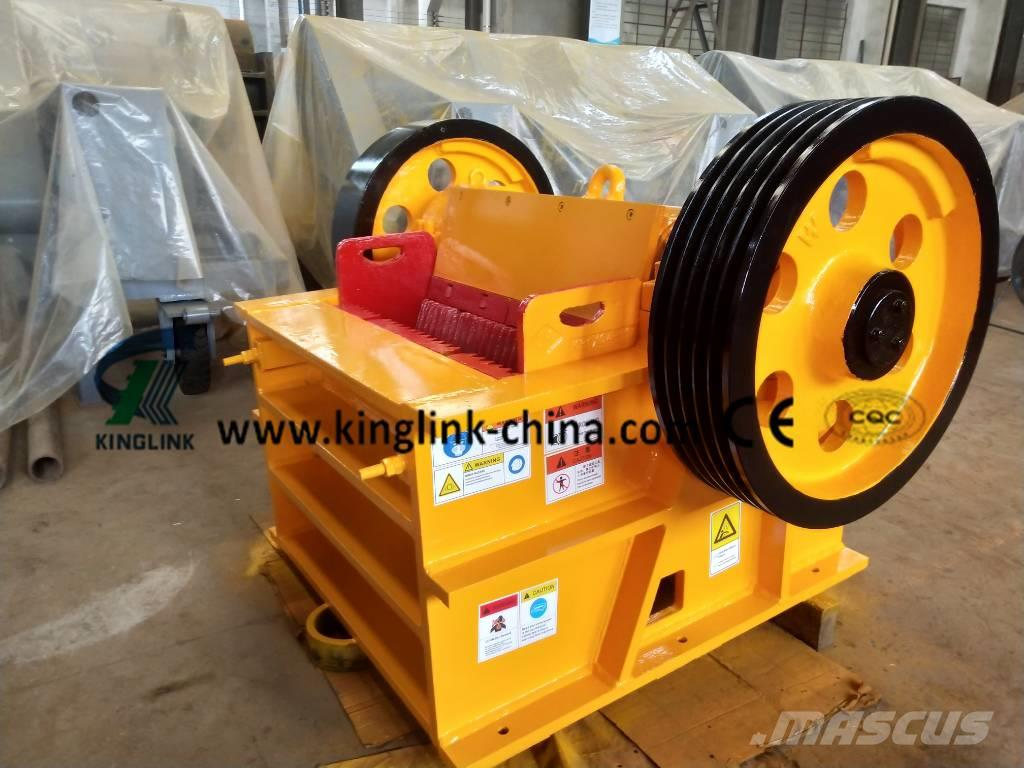 Kinglink Secondary Stone Jaw Crusher PEX-250x1000