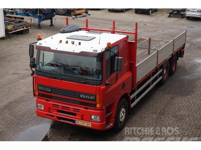 DAF CF85.360 6X2 Flatbed Truck / MOT: 16-07-2020