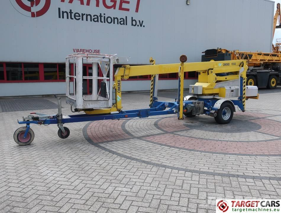 Omme 1550EBZX Articulated Towable Boom Work Lift 1530cm