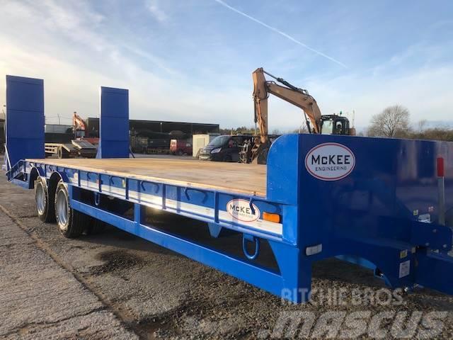 McKee 19 ton gross lowloader trailer