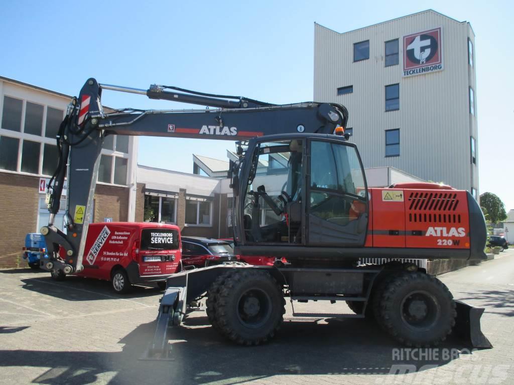 Atlas 220 W Schild/Pratze