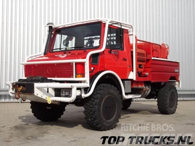 Unimog MB U1550 L37 (2150) - Fire Truck - Lier, Winch, Wi