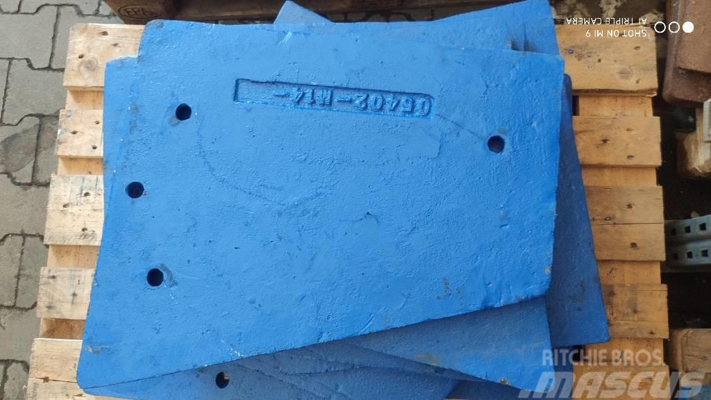 Sandvik Płyta policzkowa C12, QJ340, QJ341