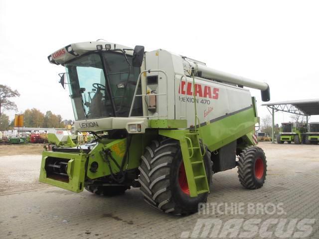 CLAAS Lexion 470 Evolution