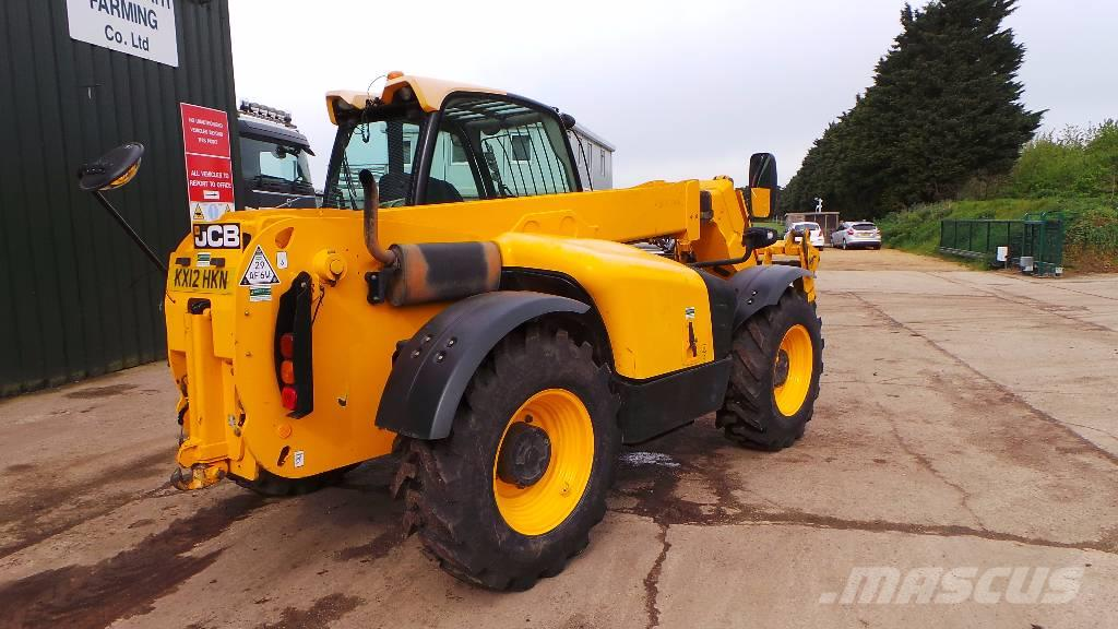 JCB 531-70 Turbo (stocked in Germany), 2012, Stivuitoare telescopice