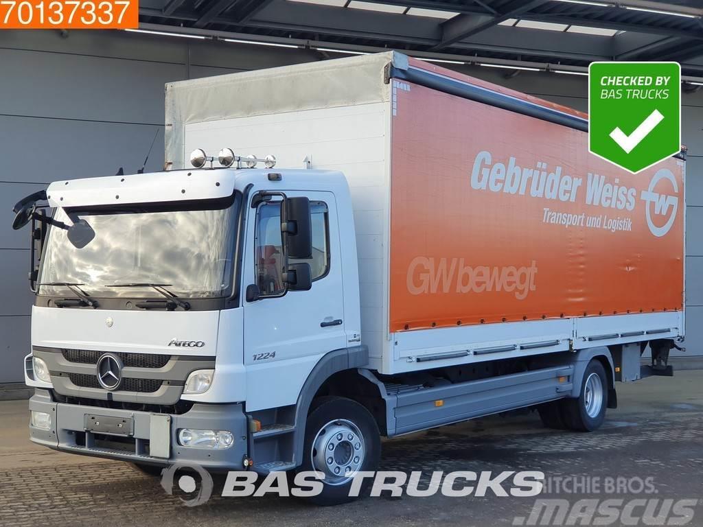 Mercedes-Benz Atego 1224 L 4X2 German Truck Automatic Ladebordwa