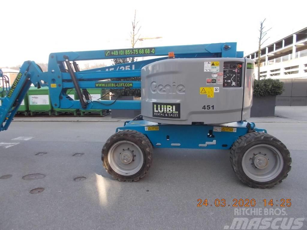 Genie Z45/25J RT, 16m boom lift diesel, only 290 hours
