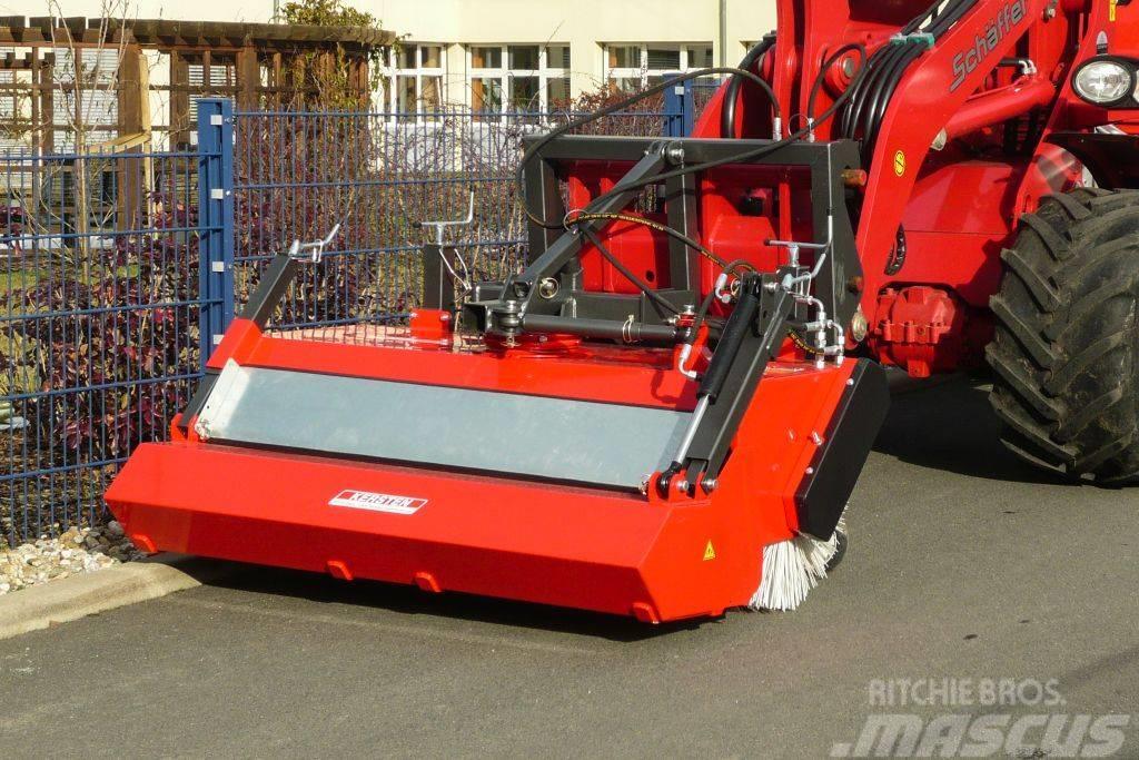 Kersten KM52 veegmachine voor wielladers en mini shovels