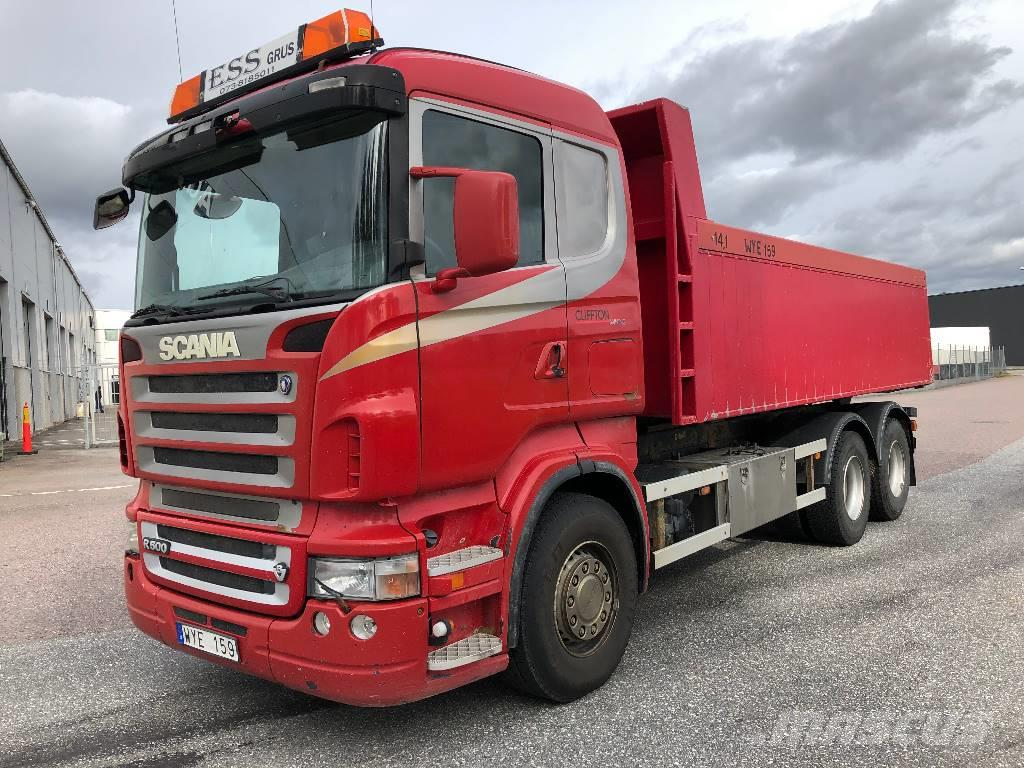 Scania R500 6x2 tipp 165 000:-