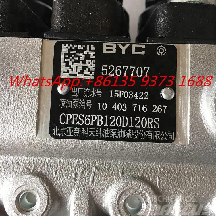 Cummins 6BT5.9 -G2 Fuel  Pump 5267707 5267706