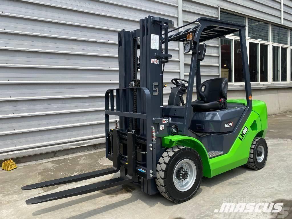 UN Forklift 2.5TON DIESEL CONVERTED LITHIUM BATTERY SUPEREC