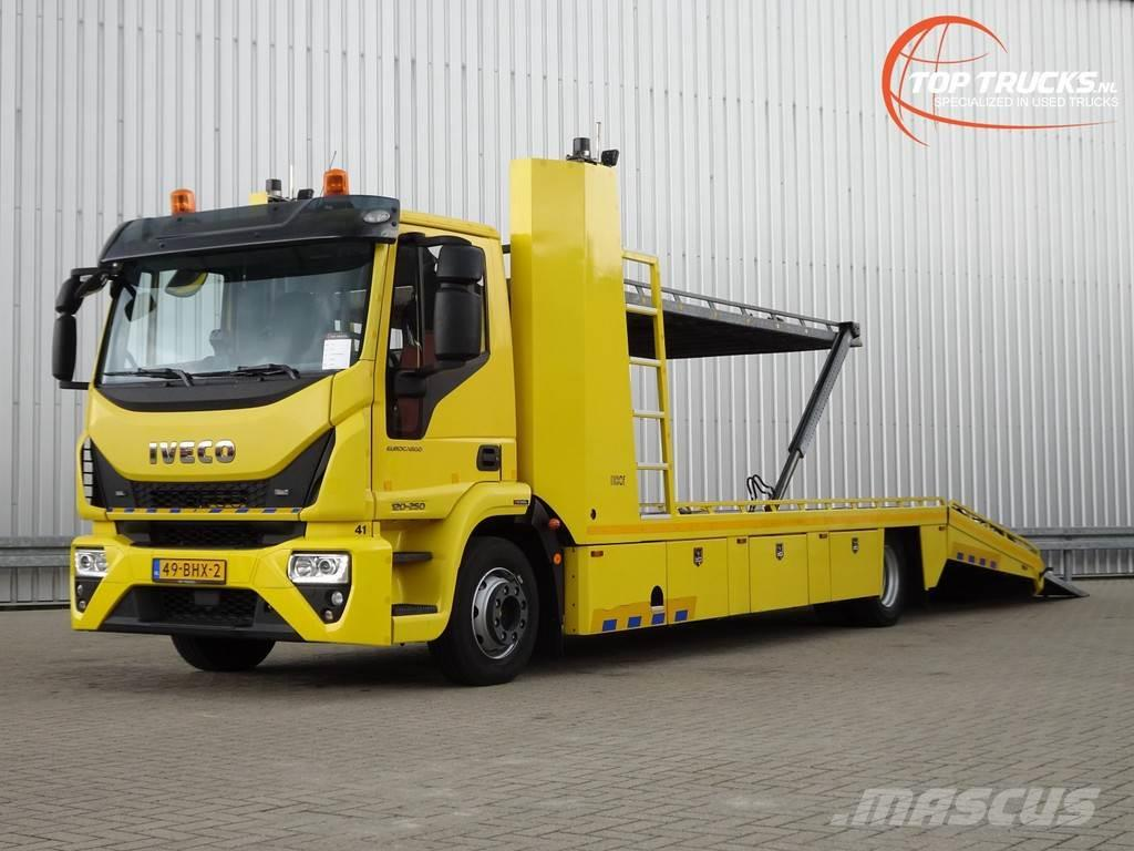 Iveco Euro Cargo 120-250 Thijhof 2-3 lader, Twin deck, D