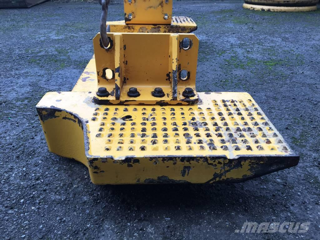 Volvo L90G Logging weight