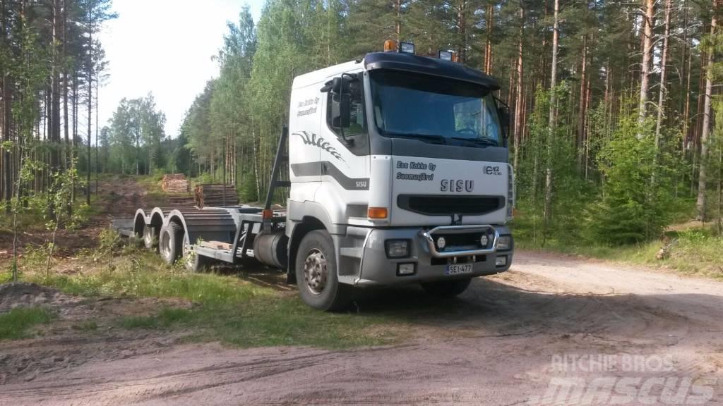 Scania G 490 Metsäkoneen kuljetus auto Lavetti, 2016, Övriga bilar