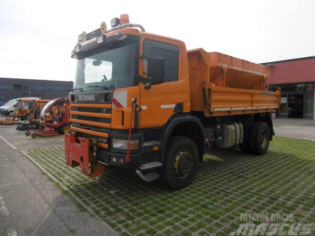 Scania P 114 CB 4x4 HA 340