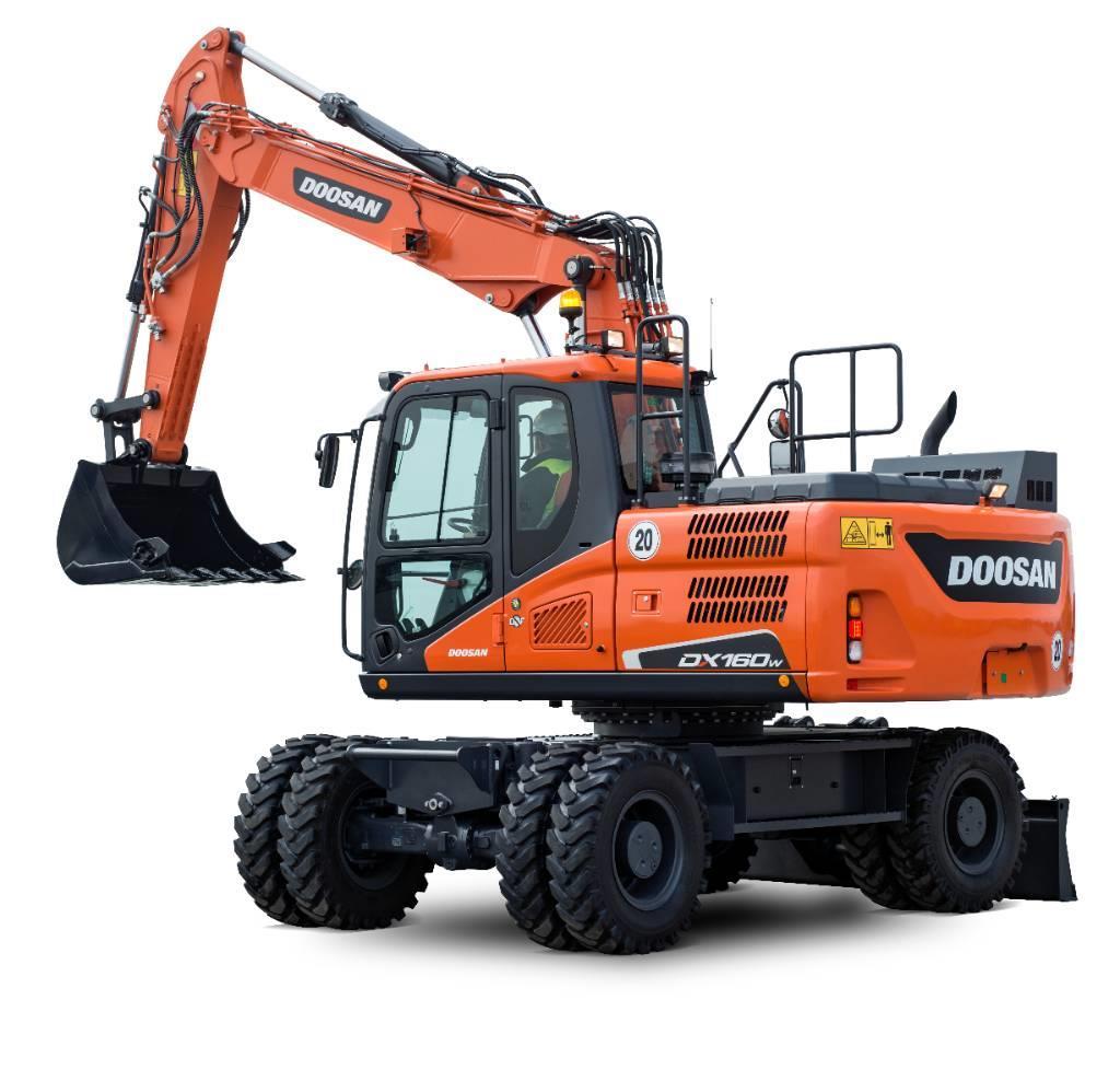 Doosan Hjulgrävare 16 ton - DOOSAN DX160W-5