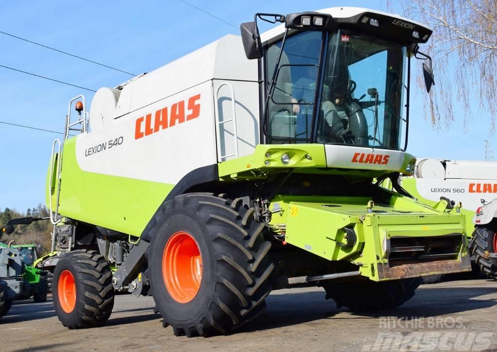 CLAAS LEXION 540 - CAT 313 KM - 6 M - 2005 ROK