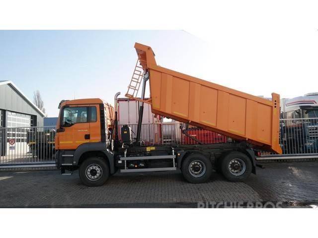 MAN TGS 33.400 TIPPER 16 m3 MANUAL GEARBOX NEW TRUCK