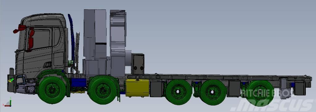 Scania R 580 B10x4*6NA HIAB X-HiPro 1058E-8 + Jib 150X-6