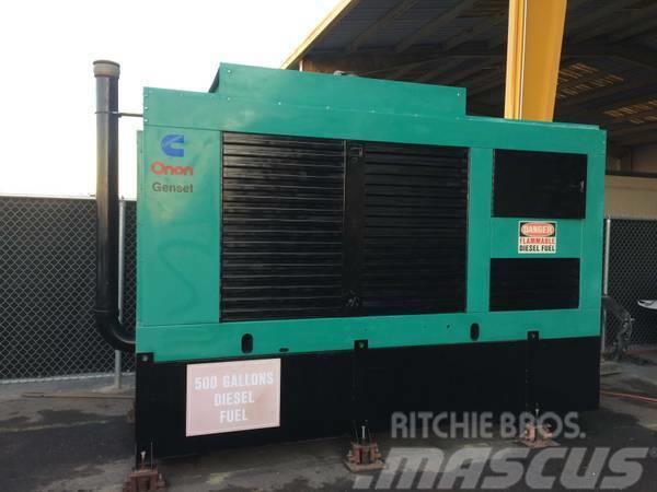 Cummins Onan 350KW Generator Model 350DFCC