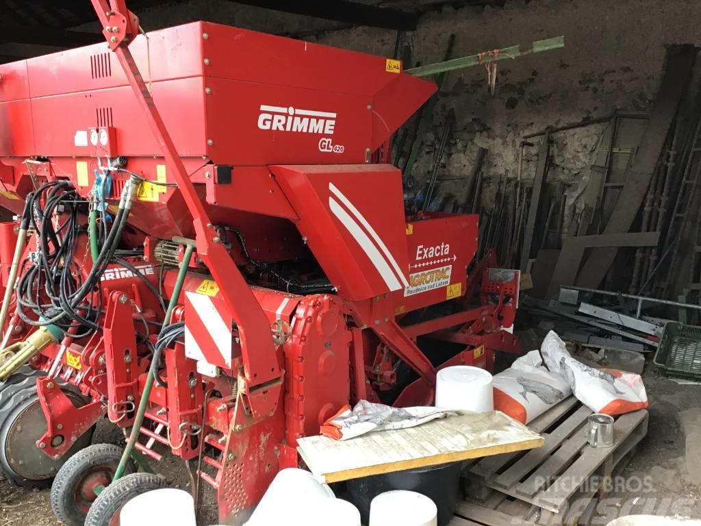 Grimme GL 420 EXACTA S FRÉZOU GR 9210