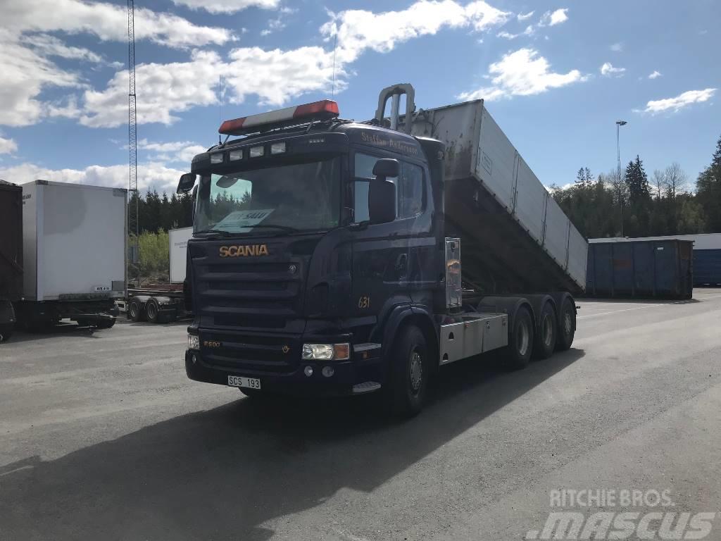 Scania R500 8x4*4