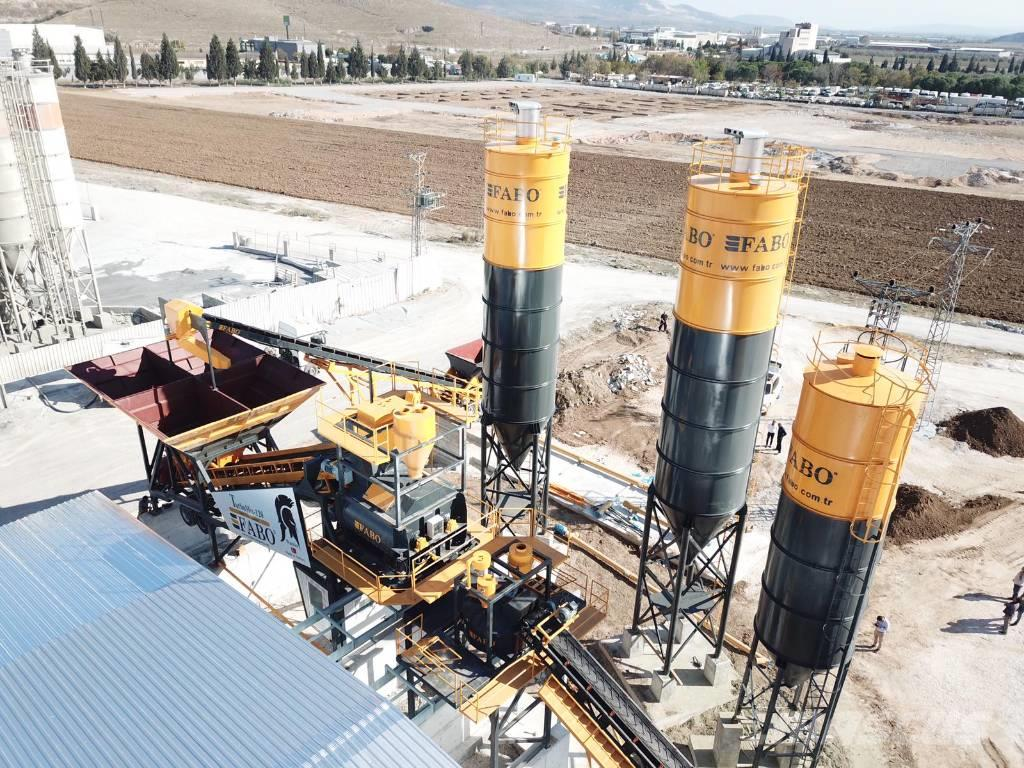 Fabo TURBOMİX 120 NEW DESIGN MOBILE CONCRETE BATCHING P
