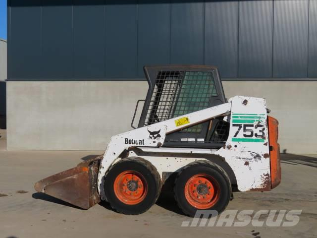 Used Bobcat 753 Skid Steer Loaders Year 2001 Price Us 8767 For