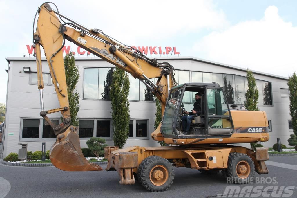 CASE WHEEL EXCAVATOR WX200 23 T TRIPLE ARM