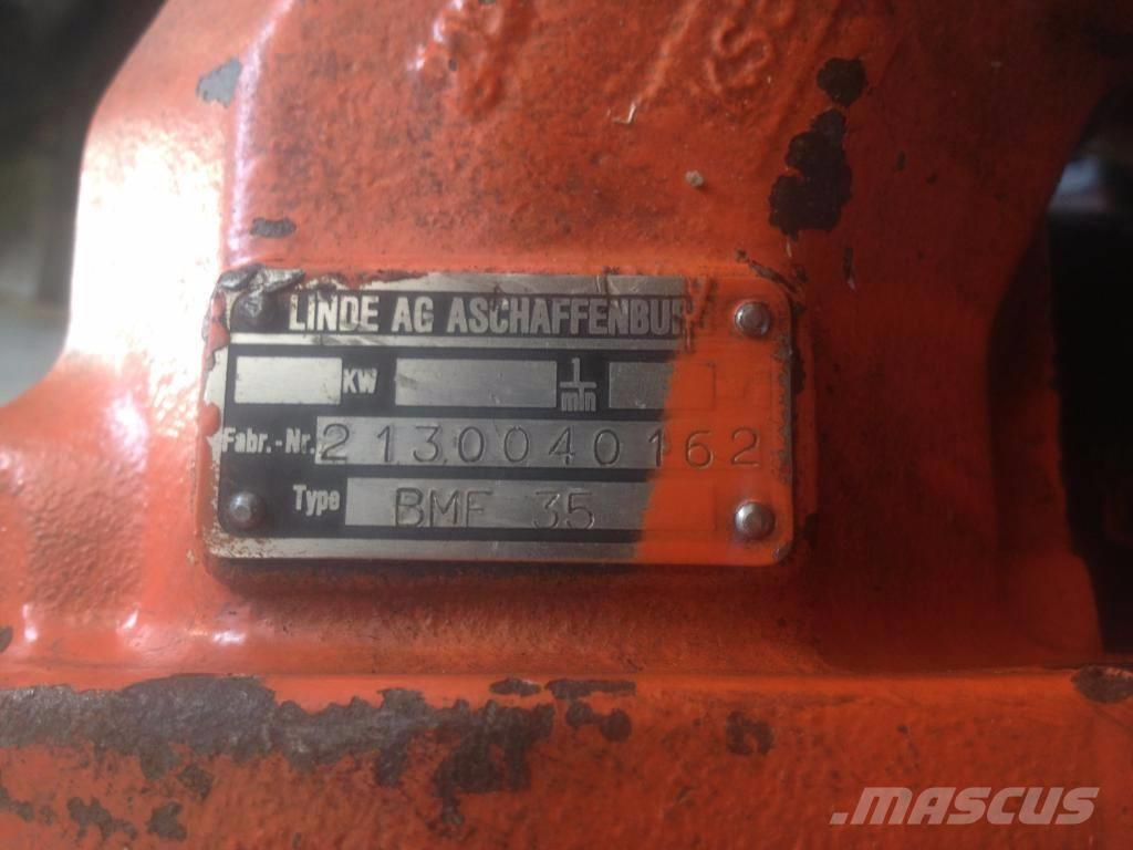 Atlas 1302 BMF 35 Hydraulic Engine