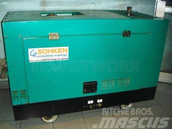 Kubota powered diesel generator set J320