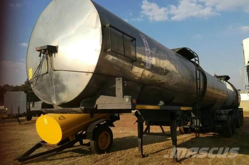 [Other] Bitumen Semi Trailer D/Axle Bitumen Tanker with Pu