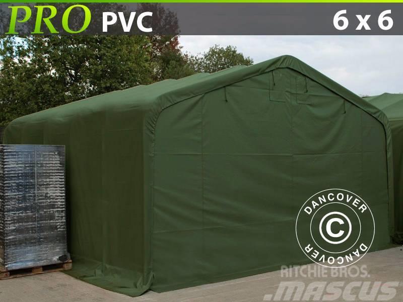 Dancover Storage Shelter 6x6x3,7m PVC Telthal