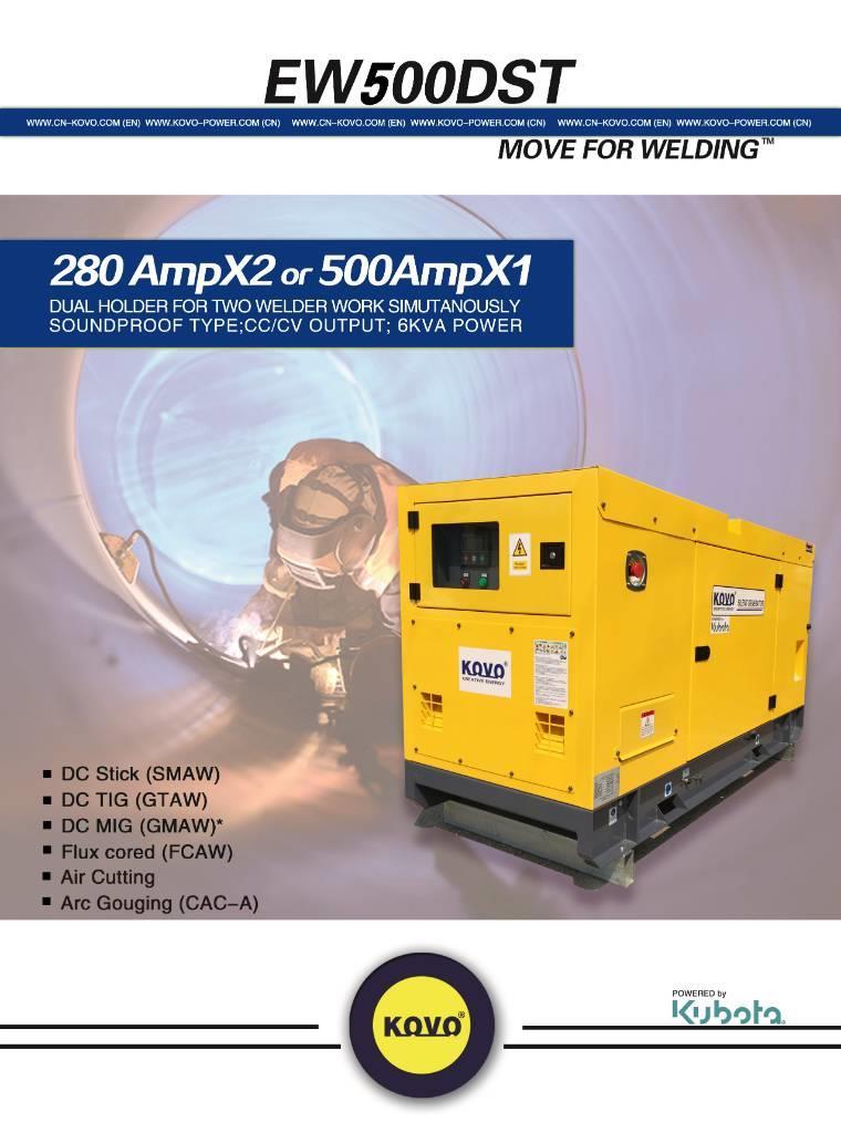 Kubota V3300 diesel engine welder EW500DS