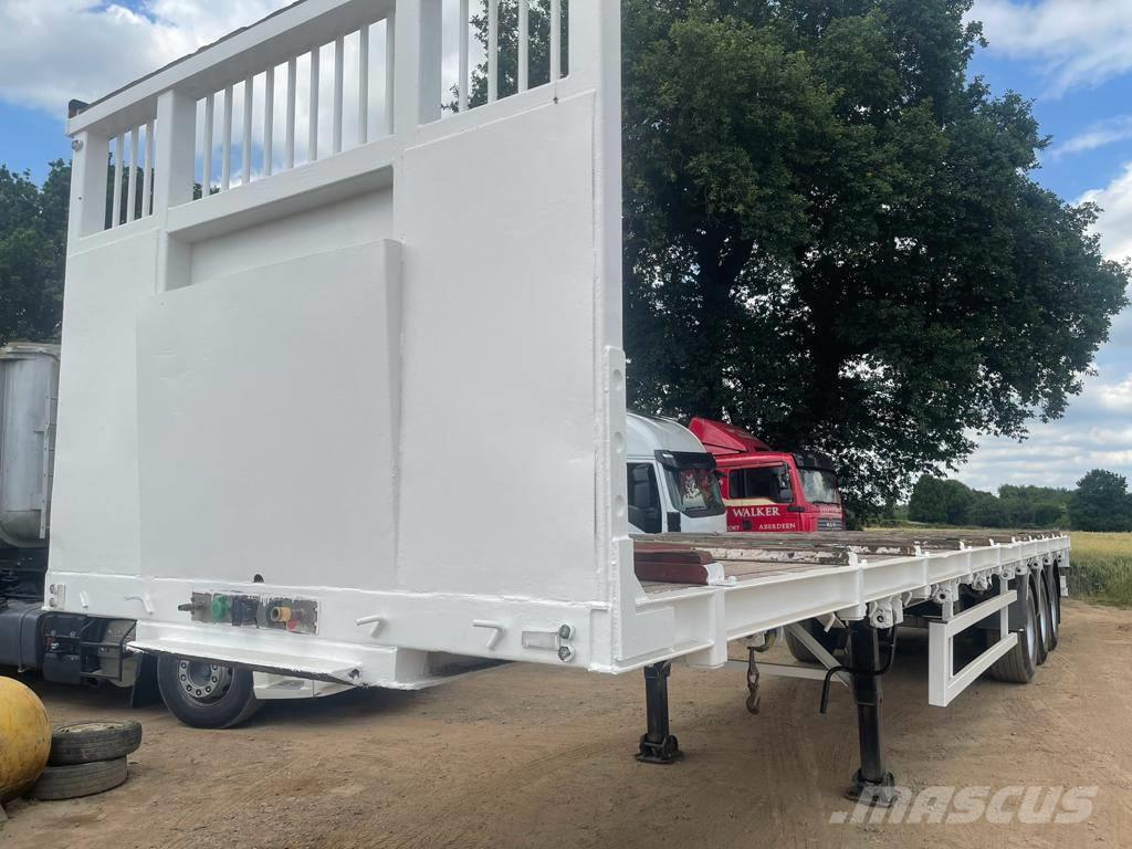 SDC 13.6m Flatbed Trailers