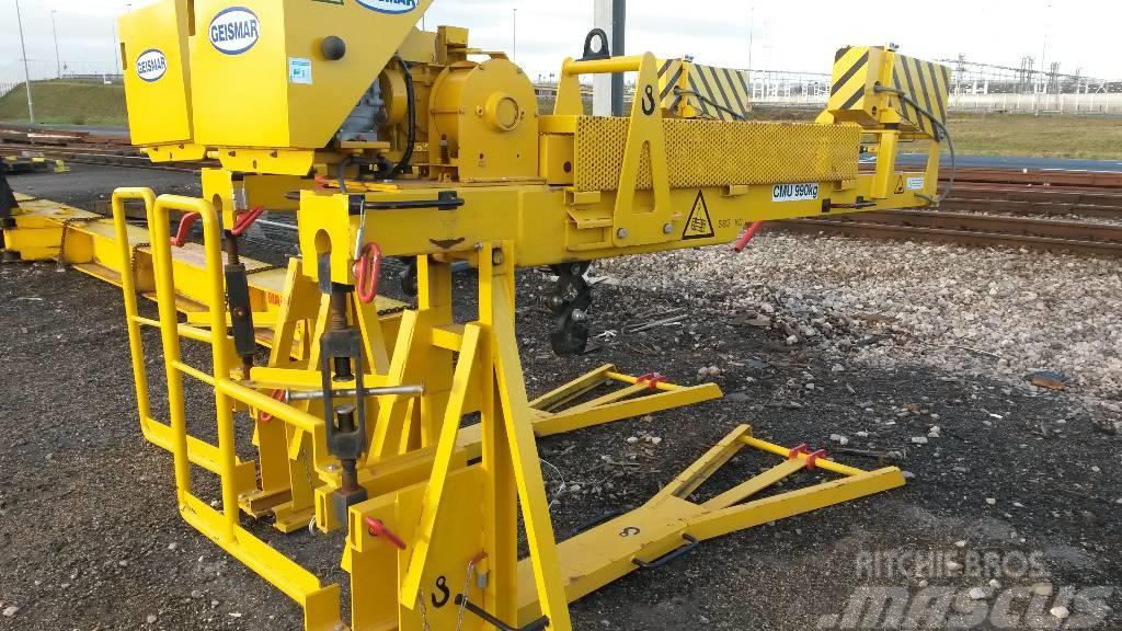Used Geismar Rail Loader CR railroad maintenance Year: 2015 for sale