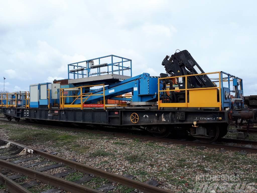 [Other] crane and lifting platform wagon RS2 PVI
