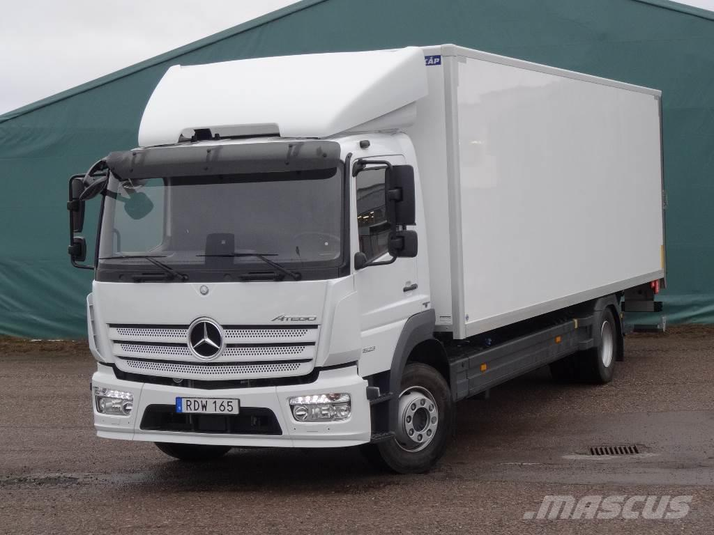 mercedes benz atego 1523 l salask p box body trucks year of manufacture 2016 mascus uk. Black Bedroom Furniture Sets. Home Design Ideas