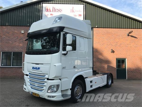 used daf xf 106 460 ft ssc super space cab tractor units year 2015 price 64 066. Black Bedroom Furniture Sets. Home Design Ideas