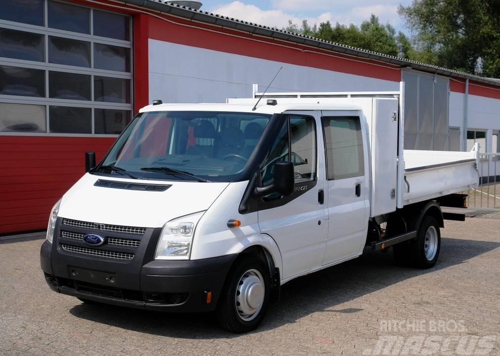 cdb065bcf3 Ford Transit FT350 Doka Kipper Klima EURO5 TÜV neu! - Tipper trucks ...